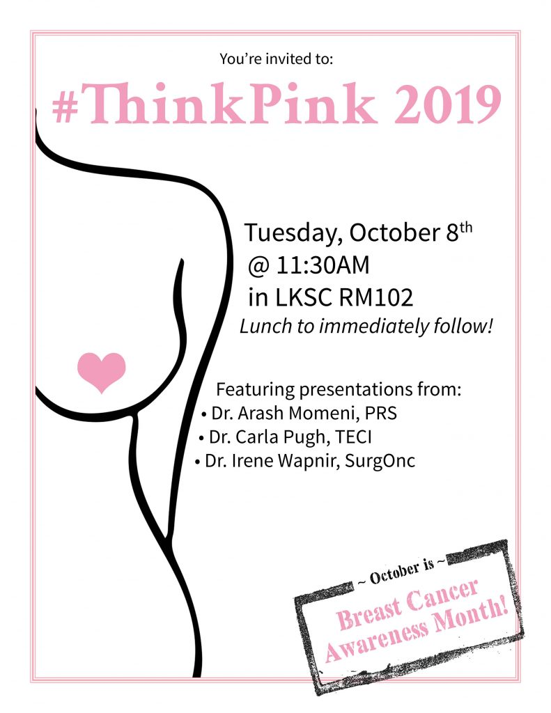 #ThinkPink 2019 @ LKSC Rm. 102
