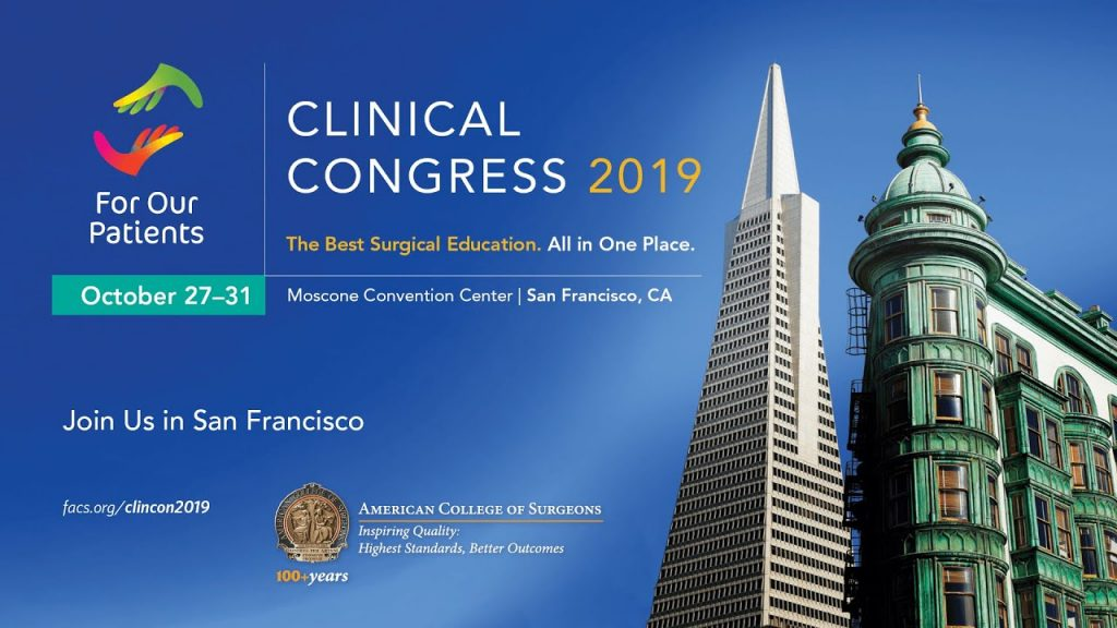 ACS Clinical Congress @ Moscone Convention Center