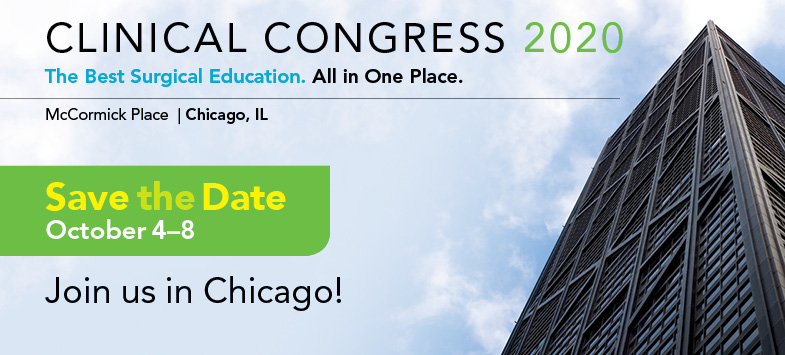 Clinical Congress 2020 @ Chicago, IL